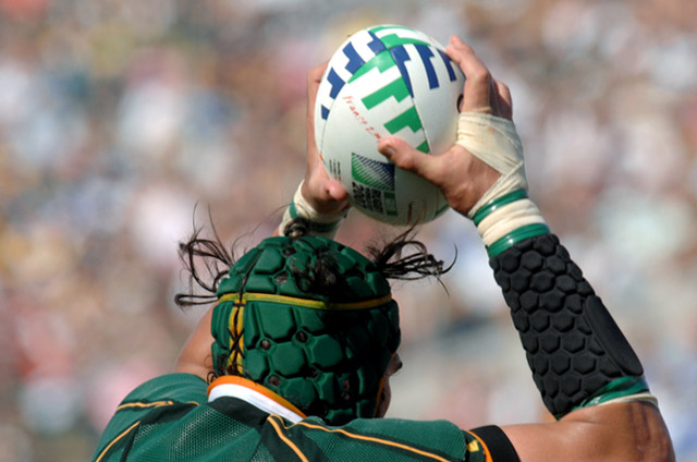 rugby casco
